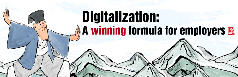 Digitalization: A winning formula for employers